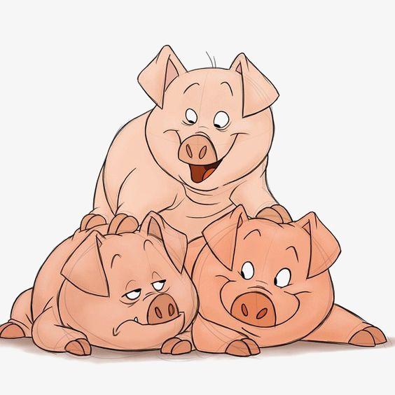 猪logo_猪png素材-90设计
