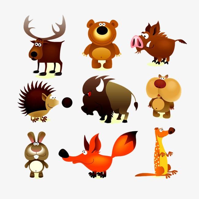 图片 卡通动物 > 【png】 卡通动物  分类:装饰元素 类目:其他 格式