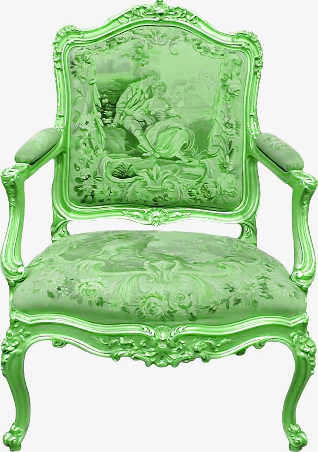 欧式花纹座椅