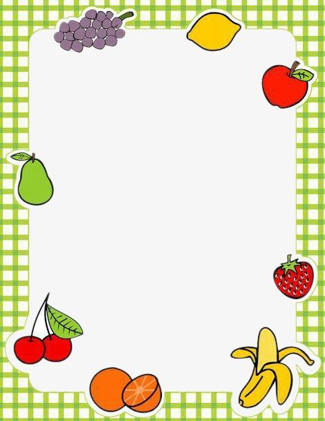 绿格子边水果框素材图片免费下载 高清边框纹理psd 千库网 图片编号4409613
