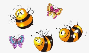 图片 > 【png】 卡通蜜蜂素材  分类:手绘动漫 类目:其他 格式:png