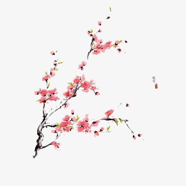 图片 手绘卡通 > 【png】 手绘梅花