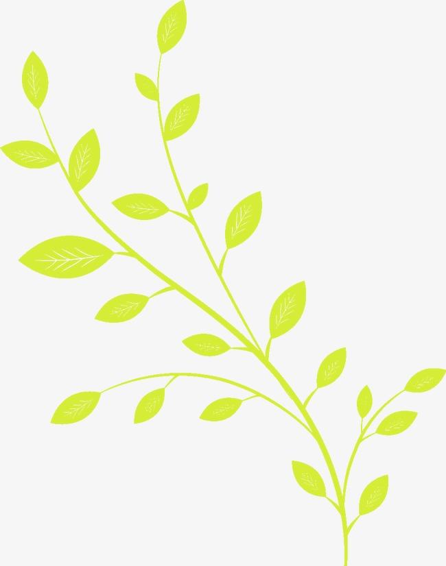 图片 > 【png】 漂亮卡通枝叶  分类:手绘动漫 类目:其他 格式:png
