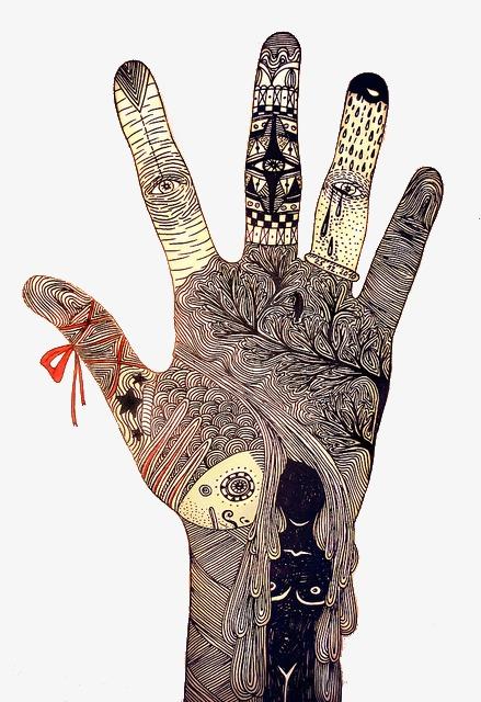 创意手指手绘