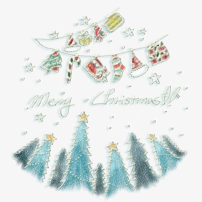 图片 > 【png】 手绘圣诞素材  分类:海报 类目:其他 格式:png 体积