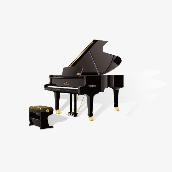 钢琴和凳子图片