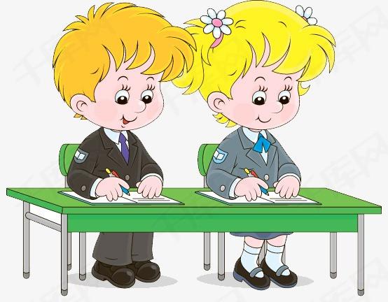 写作业的小学生素材图片免费下载 高清卡通手绘png 千库网 图片编号