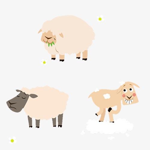 棉签手工制作绵羊