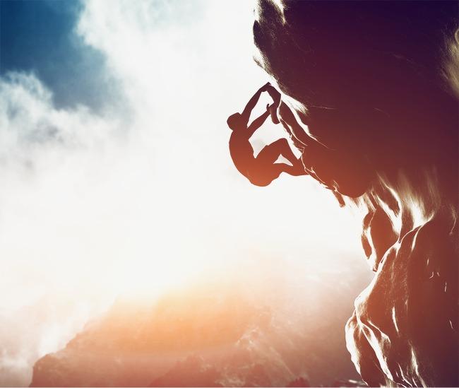 攀岩的人素材图片免费下载_高清装饰图案png_千库网