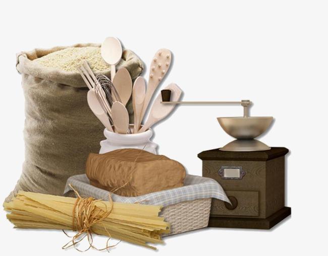 粮食手工制作小白兔