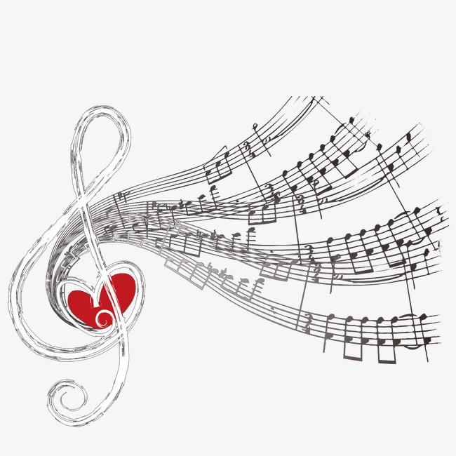 创意音乐乐谱
