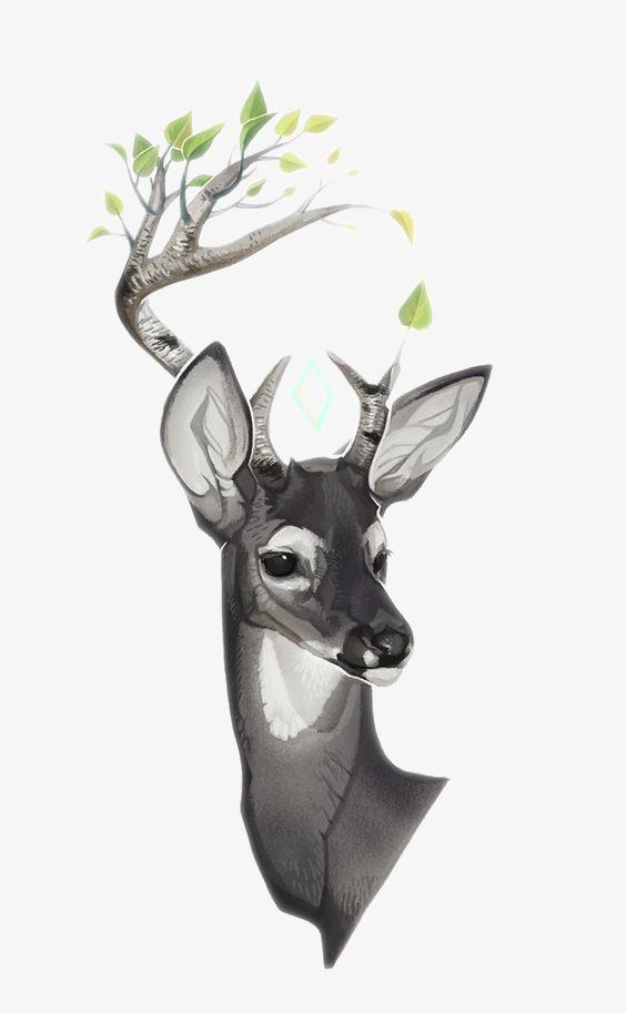 图片 > 【png】 小鹿  分类:手绘动漫 类目:其他 格式:png 体积:0.