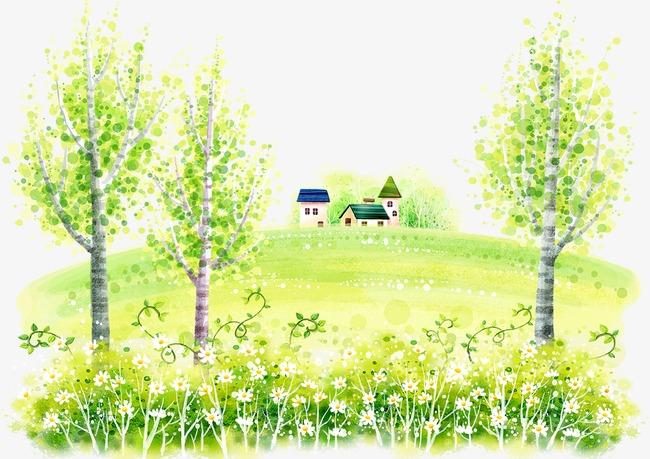 大树和房屋