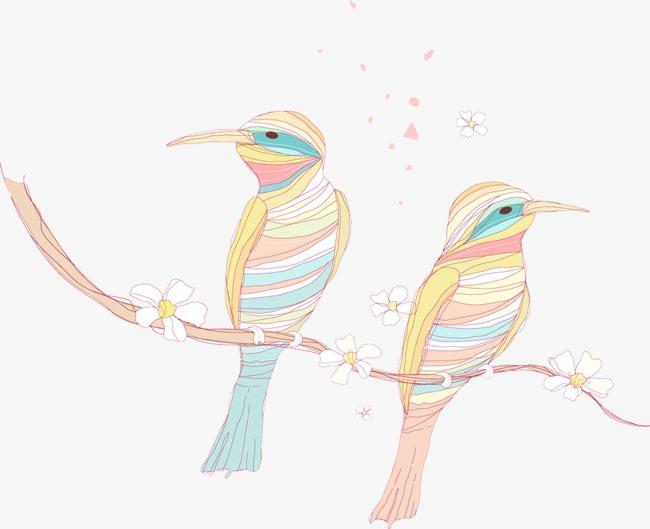 图片 > 【png】 手绘鸟儿