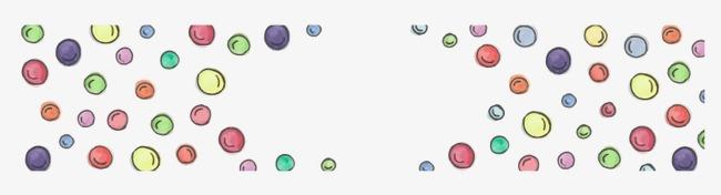 矢量手绘卡通圆球