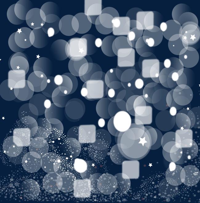 丰富多彩的泡沫矢量素材