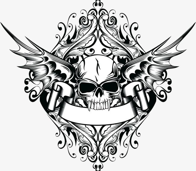 黑白 纹身 图案             此素材是90设计网官方设计出品,均做