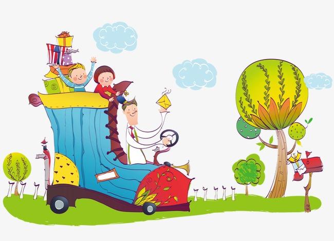 手绘温馨的家庭素材图片免费下载 高清png 千库网 图片编号4659585图片
