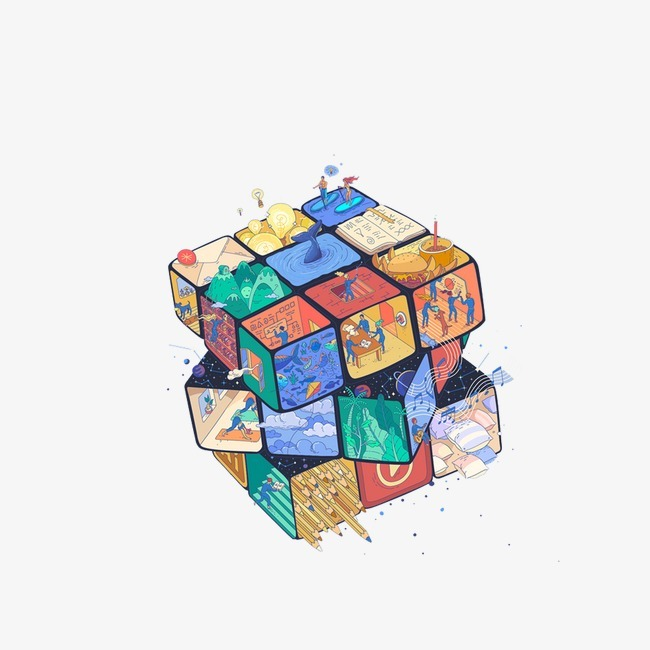 4x4魔方散了怎么装图解