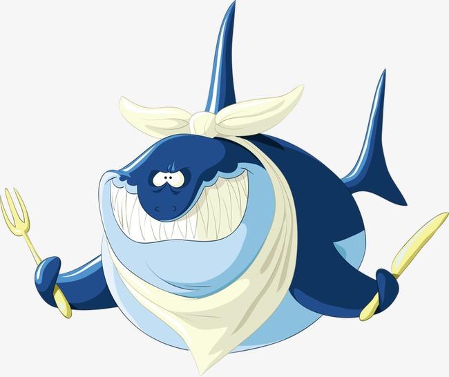 鲨鱼 创意 卡通 手绘             此素材是90设计网官方设计出品,均