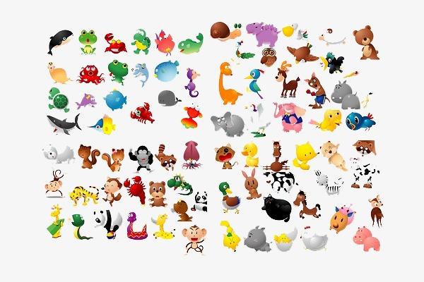 100种小动物图片