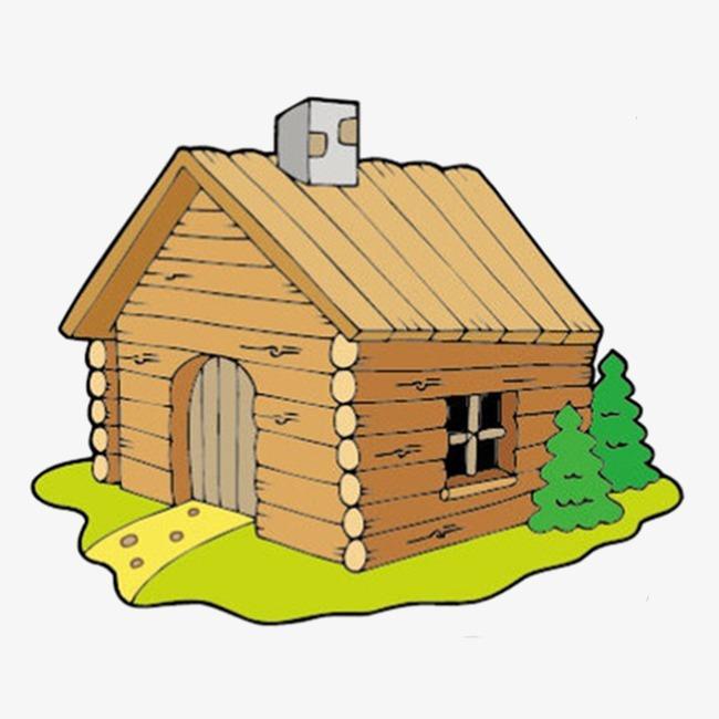 图片 木屋背景 > 【png】 木屋  分类:手绘动漫 类目:其他 格式:png