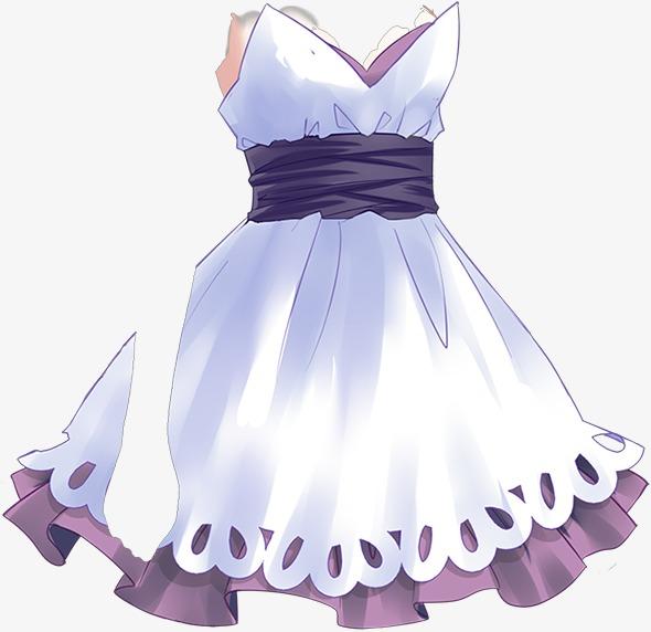可爱手绘裙子