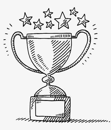 涂鸦奖杯素材图片免费下载 高清卡通手绘png 千库网 图片编号4704566