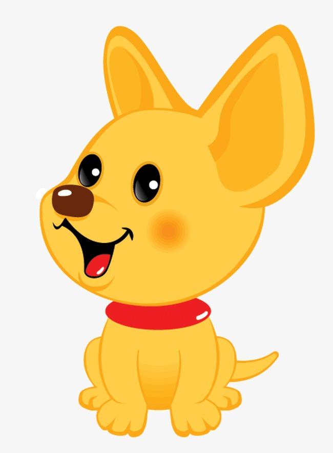 高兴表情的小狗图片
