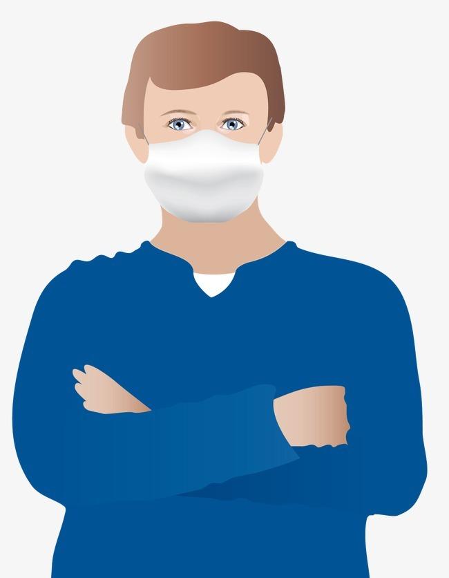 戴口罩的医生图片