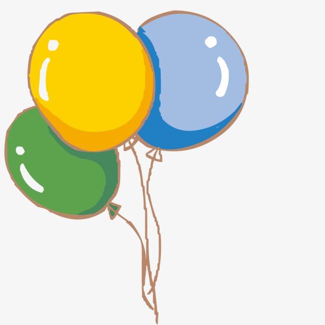 气球的图片手绘图片