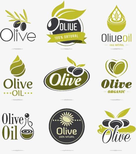 橄榄油标志设计素材图片免费下载_高清png_千库网