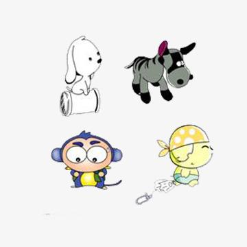 小孩和小动物