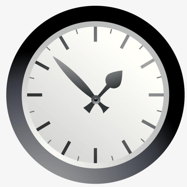 图片 效果元素 > 【png】 手绘圆形钟表