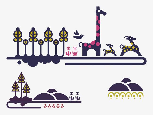 创意动物画