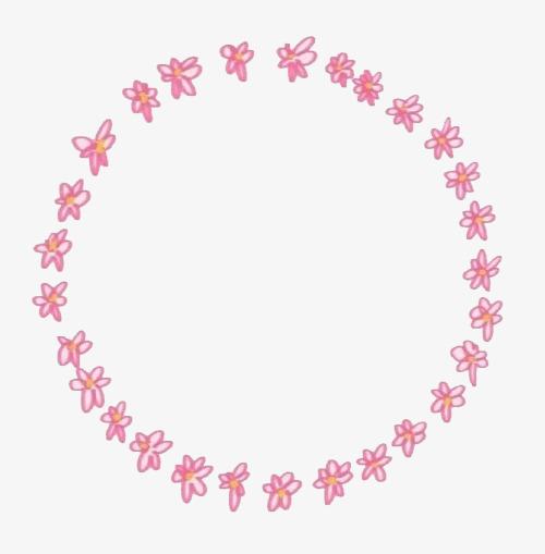 花圈背景_花圈的图框png素材-90设计图片