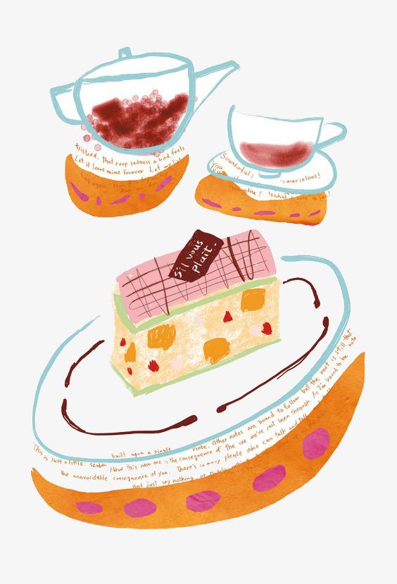 图片 > 【png】 手绘下午茶  分类:手绘动漫 类目:其他 格式:png 体积
