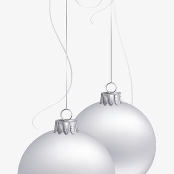手繪圣誕球