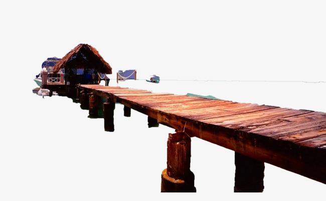 小木桥【高清效果元素png素材】-90设计图片