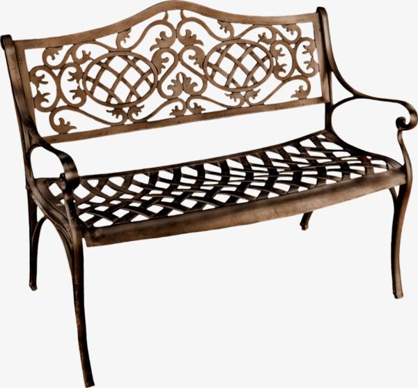 欧式长椅png素材-90设计图片