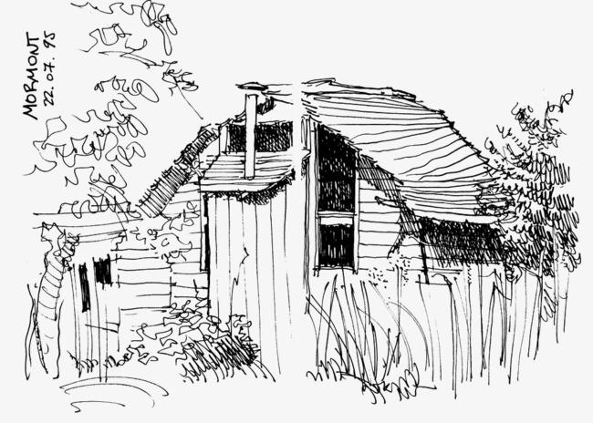 景线描线描场景建筑场景建筑风景手绘手绘建筑建筑线稿建筑风景线