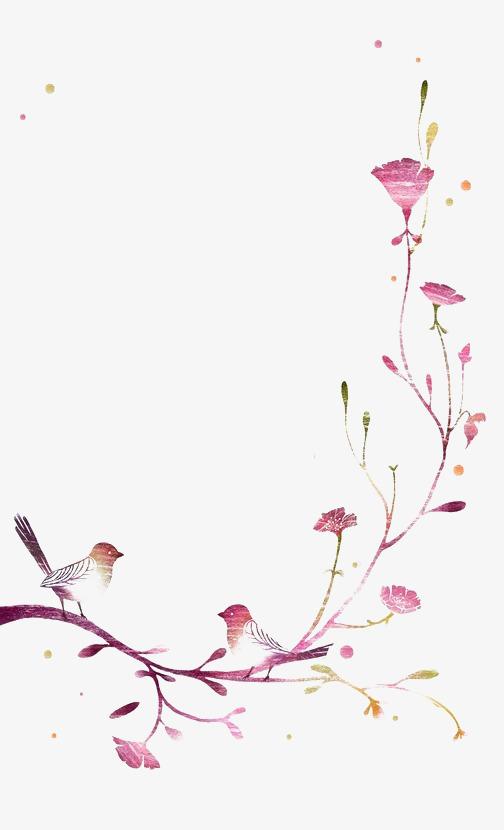 01m 尺寸:504*830 90设计提供高清png边框纹理素材免费下载,本次花朵