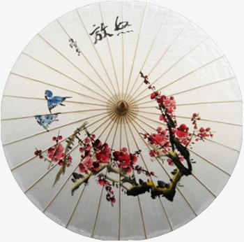 古风伞面图png素材-90设计