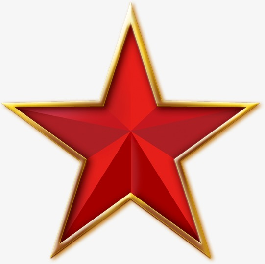 红色五角星图片