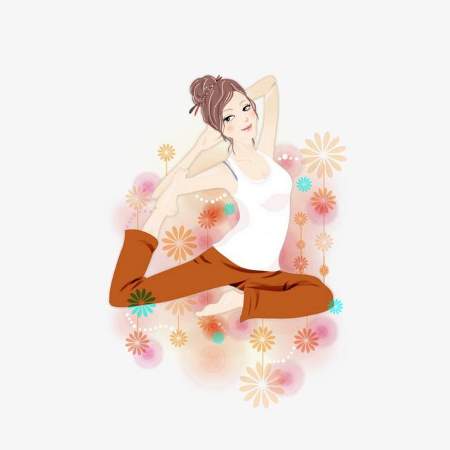 图片 > 【png】 瑜伽动作  分类:手绘动漫 类目:其他 格式:png 体积:0