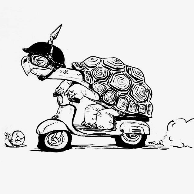 乌龟和蜗牛赛跑素材图片免费下载 高清卡通手绘png 千库网 图片编号