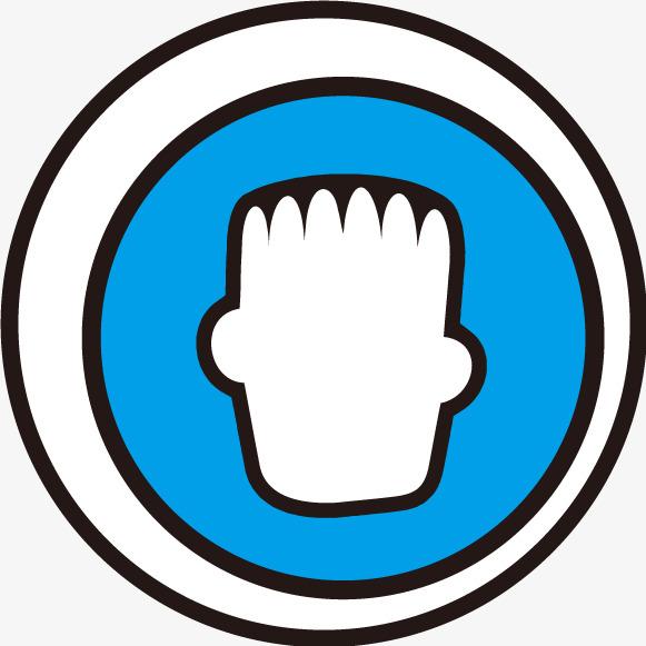 蓝色圆圈标志设计矢量素材图片免费下载_高清psd_千库