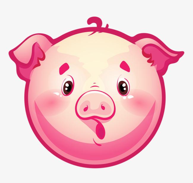 儿童手工制作面具猪头