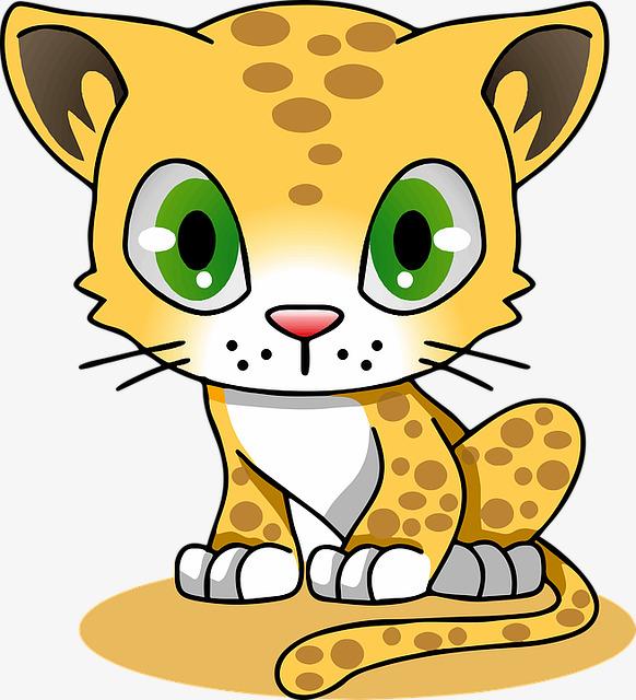 可爱卡通小猫