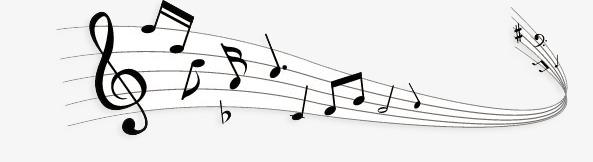 五线谱 音乐 音乐符号 简约线条             此素材是90设计网官方